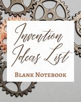 Invention Ideas List - Blank Notebook - Write It Down - Pastel Rose Gold Pink - Abstract Modern Contemporary Unique Art 1034285270 Book Cover