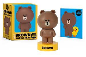 LINE FRIENDS Mini BROWN Bobblehead 0762478853 Book Cover