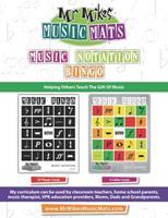 Music Notation Bingo: MrMikesMusicMats 1087416450 Book Cover