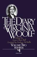 The Diary of Virginia Woolf, Volume II: 1920-1924 0156260379 Book Cover