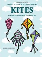 Coloring Book for 3 Year Olds (Kites) 0244560781 Book Cover