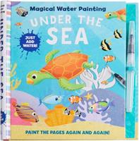 Magical Water Painting: Unicorns: | Art Activity Book  | Books for Family Travel | Kid's Coloring Books | (Magic Color and Fade)