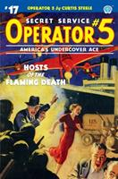 Operator 5 #17: Hosts of the Flaming Death 1618274945 Book Cover