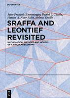 Sraffa and Leontief Revisited: Mathematical Methods and Models of a Circular Economy 3110630427 Book Cover