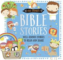 Five-Minute Bible Stories 1786927810 Book Cover