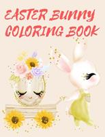 Easter Bunny Coloring Book 0695140752 Book Cover