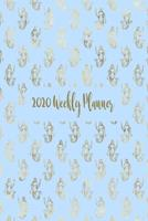 2020 Planner: Personal Time Management 2020 Weekly Monthly Planner, Diary, Organiser: 6 x 9 137 Pages With Mermaid Themed Cover 1692494740 Book Cover