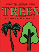 Coloring Books for 2 Year Olds (Trees) 0244861811 Book Cover