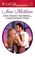 One-Night Mistress... Convenient Wife 0373236352 Book Cover