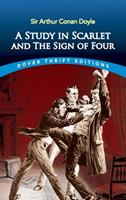 A Study in Scarlet & The Sign of the Four 0486431665 Book Cover