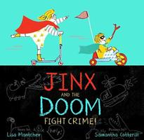 Jinx and the Doom Fight Crime! 1481467018 Book Cover