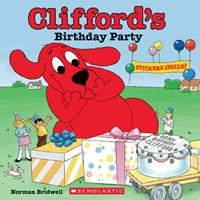 Clifford's Birthday Party 0590442791 Book Cover