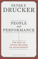 People and Performance: The Best of Peter Drucker on Management 0061664006 Book Cover