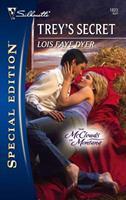 Trey's Secret 0373280718 Book Cover