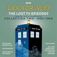 Doctor Who: The Lost TV Episodes Collection Two: 1st Doctor TV Soundtracks 1408467526 Book Cover