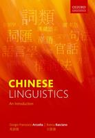 Chinese Linguistics: An Introduction 019884784X Book Cover