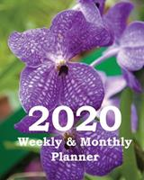 2020 Weekly & Monthly Planner: Planners and Organizers (Winter Greenhouse Gardening Cover) 1673757073 Book Cover