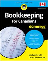 Bookkeeping For Canadians For Dummies 1119522137 Book Cover