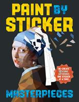 Paint by Sticker Masterpieces: Re-create 12 Iconic Artworks One Sticker at a Time! 0761189513 Book Cover