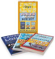 Laugh-Out-Loud Jokes for Kids 3-Book Box Set: Awesome Jokes for Kids, A+ Jokes for Kids, and Adventure Jokes for Kids 0062916041 Book Cover