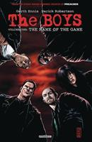The Boys, Volume 1: The Name of the Game 9133305463 Book Cover