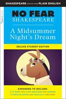 Midsummer Night's Dream: No Fear Shakespeare Deluxe Student Edition 1411479696 Book Cover