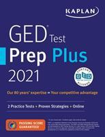 GED Test Prep Plus 2021: 2 Practice Tests + Proven Strategies + Online