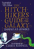The Hitchhiker's Guide to the Galaxy: The Illustrated Edition 0593359445 Book Cover