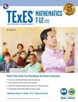 TExES Mathematics 7-12 (235) Book + Online 0738612421 Book Cover