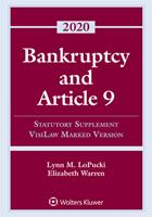 Bankruptcy and Article 9: 2020 Statutory Supplement, Visilaw Marked Version 1543820492 Book Cover