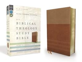 NIV, Biblical Theology Study Bible: Follow God's Redemptive Plan as It Unfolds throughout Scripture (Bonded Leather, Burgundy, Comfort Print) 0310907675 Book Cover