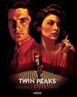 Twin Peaks - Glorious & Bizarre 8416500622 Book Cover