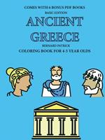 Coloring Book for 4-5 Year Olds (Ancient Greece) 0244261989 Book Cover