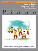 Alfred's Basic Piano Library Technic Complete, Bk 1: For the Later Beginner 0739007858 Book Cover