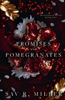 Promises and Pomegranates: A Dark Contemporary Romance 1737668114 Book Cover