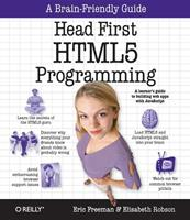 Head First HTML5 Programming 1449390544 Book Cover