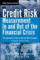 Credit Risk Management in and Out of the Financial Crisis: New Approaches to Value at Risk and Other Paradigms 0470478349 Book Cover