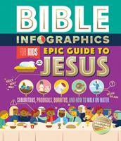 Bible Infographics for Kids Epic Guide to Jesus: Samaritans, Prodigals, Burritos, and How to Walk on Water 0736984216 Book Cover