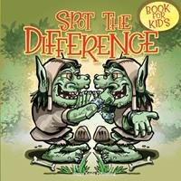 Spot the Difference Book for Kids: Have Fun looking for 10 differences in each of these 42 amazing illustrations! 1513681729 Book Cover