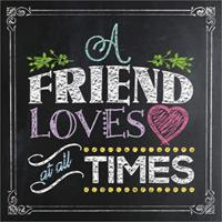 A Friend Loves at All Times 0736964045 Book Cover