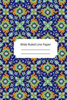 Islam Art Inspirational, Motivational and Spiritual Theme Wide Ruled Line Paper 1676534296 Book Cover