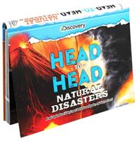 Discovery: Head-to-Head: Natural Disasters: An epic exploration of history's most destructive earthquakes, explosions, and more! 1684126096 Book Cover