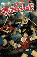DC Bombshells: The Deluxe Edition Book Two 1401292224 Book Cover