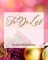 To Do List - Blank Notebook - Write It Down - Pastel Rose Pink Gold Yellow - Abstract Modern Contemporary Design Art 1034268635 Book Cover