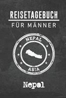 Reisetagebuch f�r M�nner Nepal: 6x9 Reise Journal I Notizbuch mit Checklisten zum Ausf�llen I Perfektes Geschenk f�r den Trip nach Nepal f�r jeden Reisenden 1712497863 Book Cover