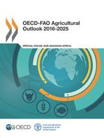 OECD-Fao Agricultural Outlook 2016-2025 926425322X Book Cover