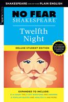 Twelfth Night: No Fear Shakespeare Deluxe Student Edition 1411479734 Book Cover