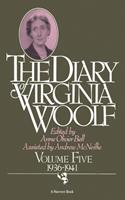 The Diary of Virginia Woolf, Volume V: 1936-1941 0156260409 Book Cover