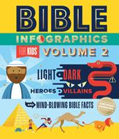 Bible Infographics for Kids Volume 2: Light and Dark, Heroes and Villains, and Mind-Blowing Bible Facts 0736976329 Book Cover