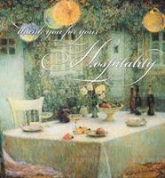 Thank You for Your Hospitality 1595830065 Book Cover